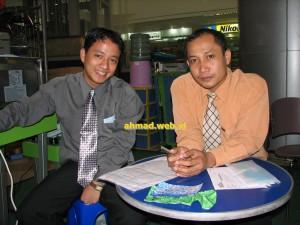 Ganteng-ganteng menipu di Medan, Sumut, 30 Oktober 2006.